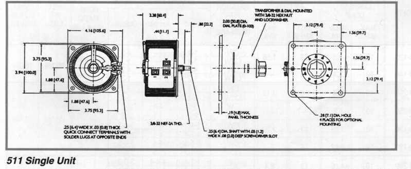 Staco 501C Variable Transformer Open 120V//5A